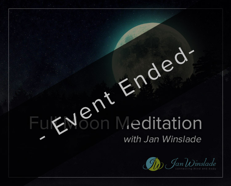 Full Moon Meditation<br>with Jan Winslade