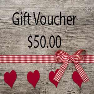 Gift Voucher $50.00